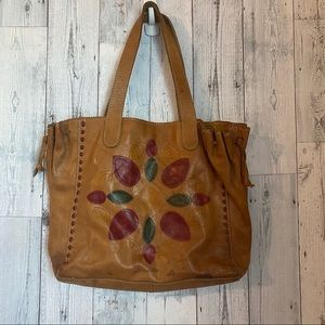 Lucky Brand - Leather Shoulder Tote